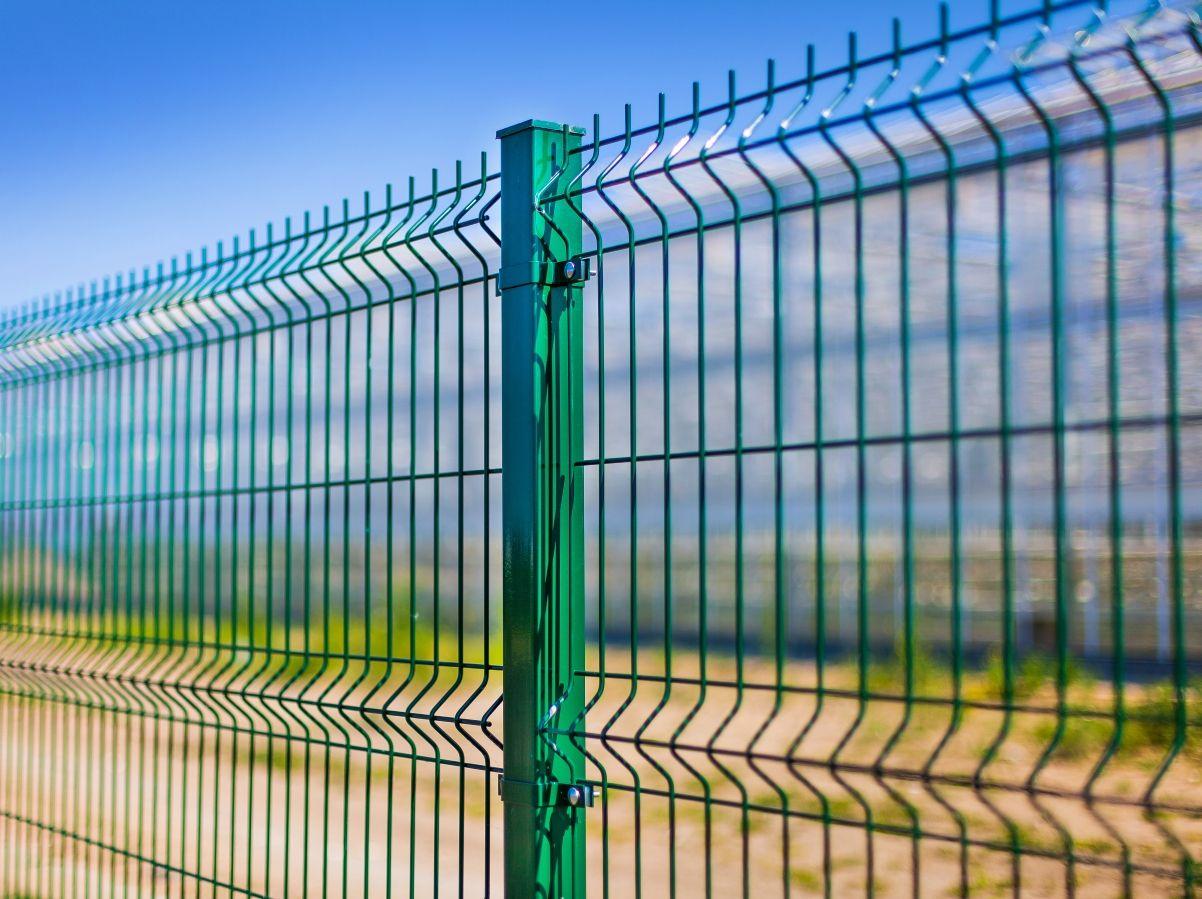 Забор 3D сетка